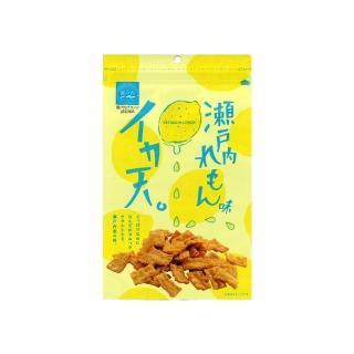 【MARUKA】瀨戶內檸檬口味魷魚天婦羅餅乾 94g(10%增量限定版)