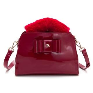 【Arnold Palmer】手提包附長背帶 MANDY系列(紅色)
