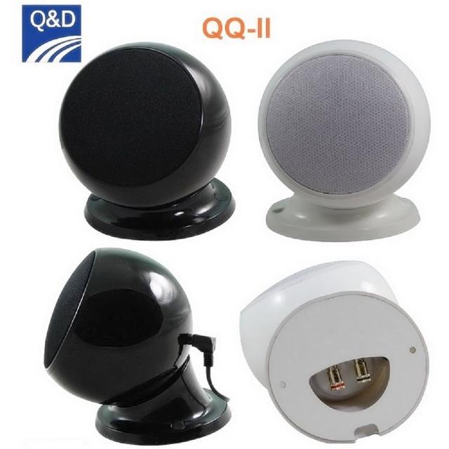 【Q&D】QQ-II 球形劇院衛星喇叭組(對)