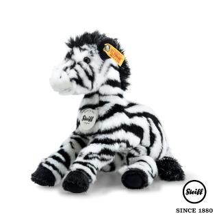 【STEIFF德國金耳釦泰迪熊】斑馬 Zippy Zebra(動物王國_黃標)