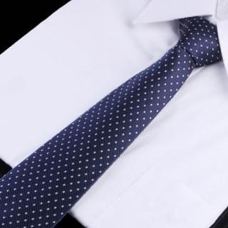 【拉福】點點8CM寬版領帶手打領帶