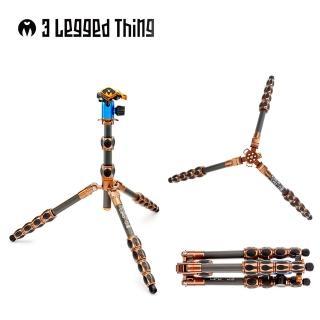 【3 Legged Thing】LEO KIT 5節碳纖維三腳(管徑23mm含雲台)