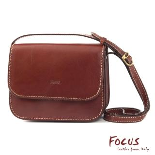 【FOCUS】經典原皮時尚斜背包(FTE7328)