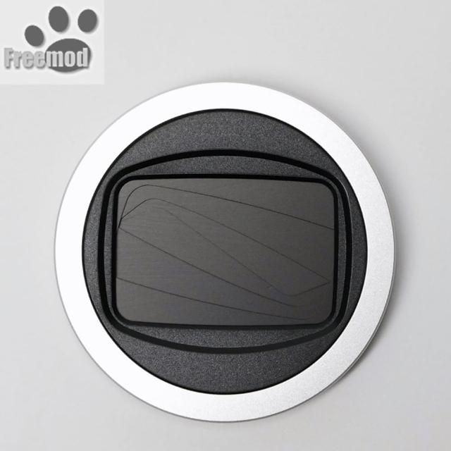 【Freemod】半自動鏡頭蓋X-CAP2鏡頭蓋49mm鏡頭蓋Silver銀色(鏡頭蓋 鏡頭前蓋 鏡頭保護蓋)