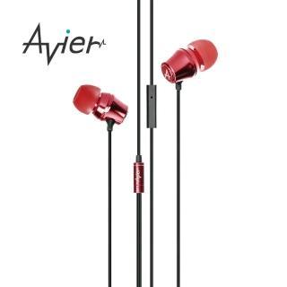 【Avier】炫彩糖果入耳式耳機(紅色)