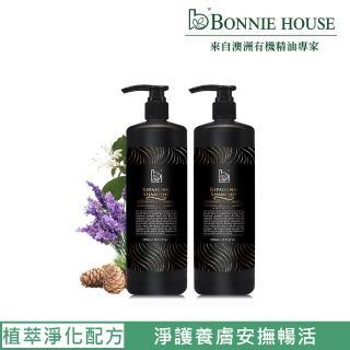 【Bonnie House】幸福朝露精油沐浴膠 1000ml 2入組