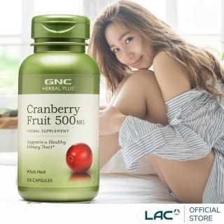 【GNC 健安喜】蔓越莓膠囊 100顆(私密保養)