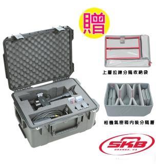 【SKB Cases】攝影機滾輪拉柄氣密箱(Sony -AX1系列)3i-201510AX1
