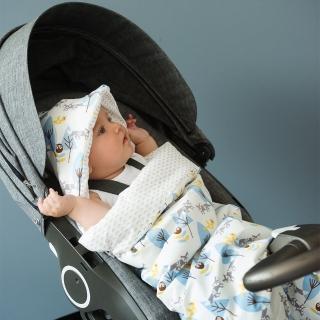 【FRESK】荷蘭 FRESK 有機棉寶寶保暖睡袋-絨毛內襯(5種款式)