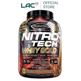 【GNC 健安喜】耐如鐵 金牌乳清蛋白飲品5.53磅(巧克力口味)