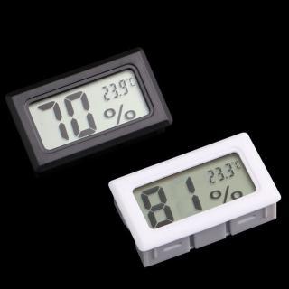高準度嵌入式電子溫濕度測量計-1入(黑白兩色可選)/