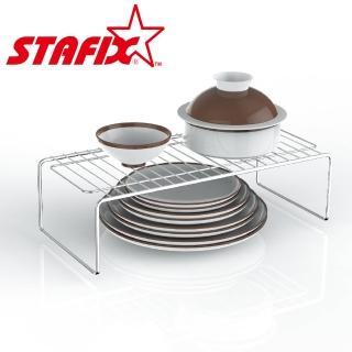 【STAFIX】全不銹鋼萬用碗盤層架