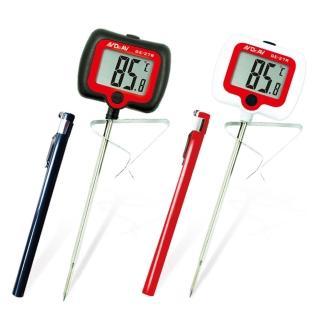 【Dr.AV 聖岡科技】旋轉大螢幕精準溫度計/2入(GE-27R)