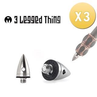 【3 Legged Thing】HEELZ 三腳架通用不銹鋼腳釘[三入]