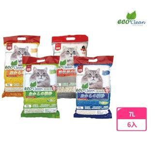 【ECO艾可】豆腐貓砂7L-6入
