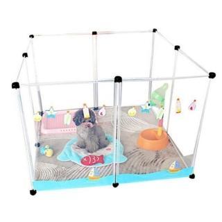 【寵物夢工廠】寵物圍欄 8片一組 狗圍欄 狗柵欄 寵物圍牆(狗籠 防護 鼠兔等小動物均可使用)