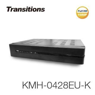 【全視線】KMH-0428EU-K 4路 H.265 1080P HDMI 數位監視監控錄影主機(台灣製造/品質保障)