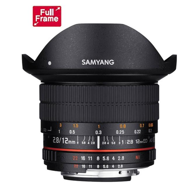 【韓國SAMYANG】12mm F2.8 ED AS NCS Fish-eye 手動對焦鏡頭(公司貨 NIKON)