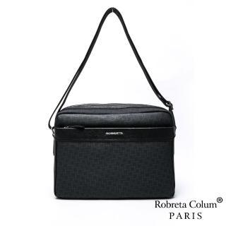 【Roberta Colum】【Roberta Colum】職人潮流尊爵牛皮斜背側背包