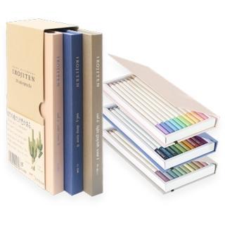 【TOMBOW蜻蜓】IROJITEN 色辭典油性色鉛筆 第二集(油性色鉛筆 繪畫)
