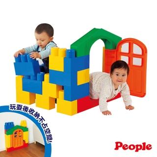 【People】全身體感大積木-空間遊戲組合(20種不同主題)