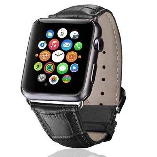【IN7】鱷魚紋系列 Apple Watch 手工真皮錶帶 42mm/44mmm(Apple Watch 42mm/44mm)