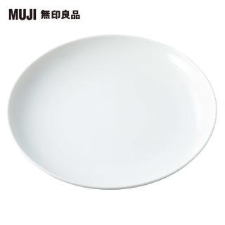 【MUJI 無印良品】白磁盤/特大