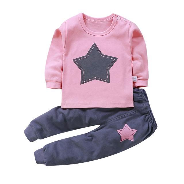 【Baby童衣】居家套裝 兒童睡衣 薄長袖套裝 寶寶居家服 88020(共7色)