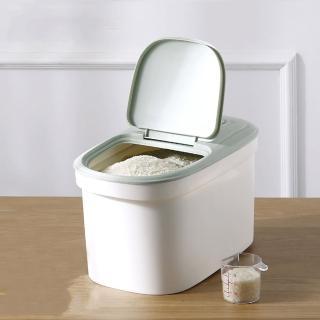 【PUSH!】居家用品特製防蟲盒10KG儲米箱麵粉桶寵物飼料桶粉色(I75-1)