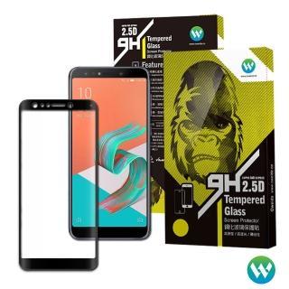【Oweida】ASUS Zenfone 5Q 2.5D滿版鋼化玻璃貼(ZC600KL)