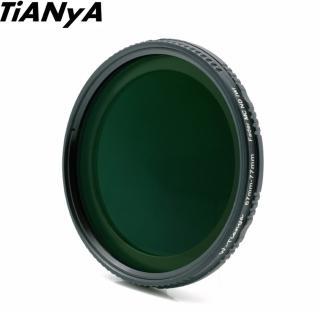 【Tianya天涯】ND Fader ND2-ND400可調式減光鏡72mm(濾鏡 減光鏡 可調式減光鏡)