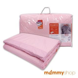 【媽咪小站】嬰兒乳膠加厚小床墊(水玉粉)