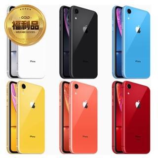 【Apple 蘋果】拆封特價品 iPhone XR 128G智慧型手機(附原廠盒)