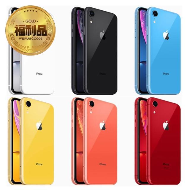 【Apple 蘋果】拆封特價品 iPhone XR 128G智慧型手機(買就送CENTURION裘莉包顏色隨機)