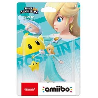【Nintendo 任天堂】amiibo公仔 羅潔塔&奇可(明星大亂鬥)