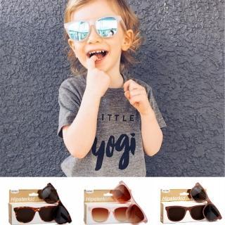 【Hipsterkid】抗UV奢華嬰兒童偏光太陽眼鏡- 多色(附固定繩)