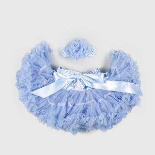 【日安朵朵】女嬰兒童雪紡蓬蓬裙 - 灰姑娘(寶寶女童澎裙禮服)