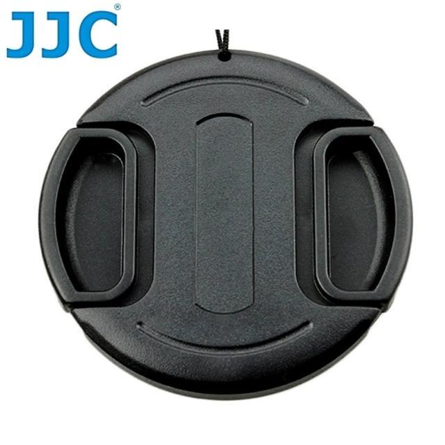 【JJC】無字中捏58mm鏡頭蓋LC-58(B款附孔繩58mm鏡頭保護蓋lens