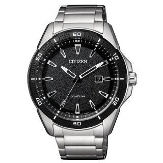 【CITIZEN 星辰】時光浩瀚光動能腕錶(AW1588-57E)