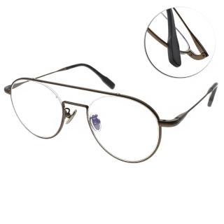 【NINE ACCORD 眼鏡】雙桿造型復古款(咖啡#TI-ARIN C03)