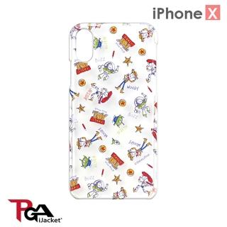 【iJacket】iPhone Xs/X  5.8吋 迪士尼 透明/彩繪 手機殼(玩具總動員)