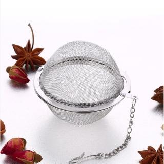 【PUSH!】廚房餐具用品304不鏽鋼滷料煲湯茶葉過濾器調味滷包球(加大號2入D72-1)