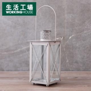 【生活工場】靜謐晨曦戶外燭臺H23CM