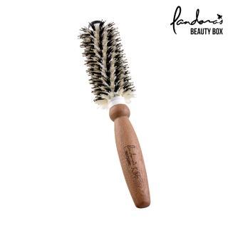 【Pandora's Beauty Box 潘朵拉的美妝盒】大師系列陶瓷管梳-中(圓梳/陶瓷梳/捲梳/美髮梳/造型梳/豬鬃梳子)