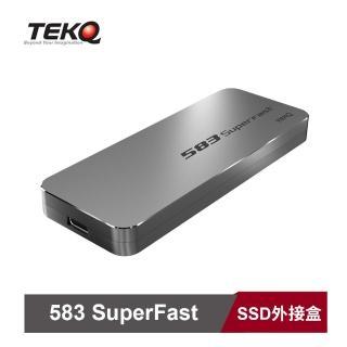【TEKQ】Type C USB 3.1 Gen 2 PCIe 10Gbps M.2 NVMe SSD 外接盒