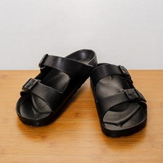【生活工場】EVA室外休閒鞋 極致黑