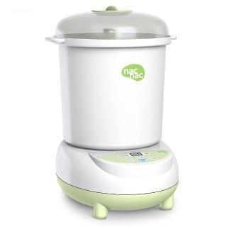 【nac nac】微電腦消毒烘乾鍋 UB0022(綠色/粉色)