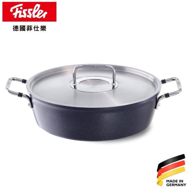 【Fissler】LUNO黑鑽鍋不沾鍋系列-烘烤鍋 24CM