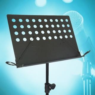 【美佳音樂】MS-320HD 台灣製造 大譜架專用 麥克風夾-黑色2入(限美佳音樂大譜架系列)