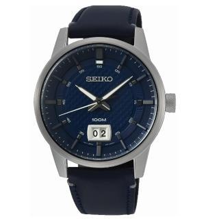 【SEIKO 精工】CS即刻準確時尚計時腕錶(SUR287P1/6N76-00H0B)